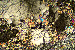 Impactite Thin Sections Rare Mantle Geology Thin Sections